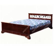 """Кровать  """"Классика с ковкой"""""""