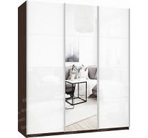 Шкаф-купе Прайм 3-х дверный (стекло/зеркало)